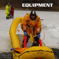 Ice Rescue suit, ice rescue equipment, Stearns, Mustang, Survitec, First Watch