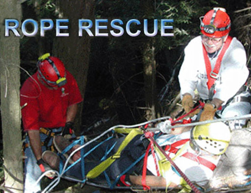 Rope Rescue Equipment