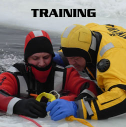 Ice Rescue train the trainer classes