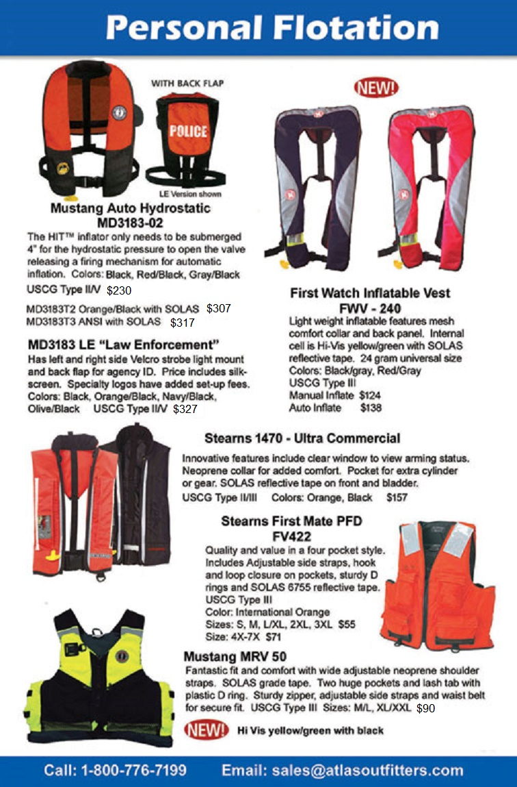 PFD. Life jacket for rescue